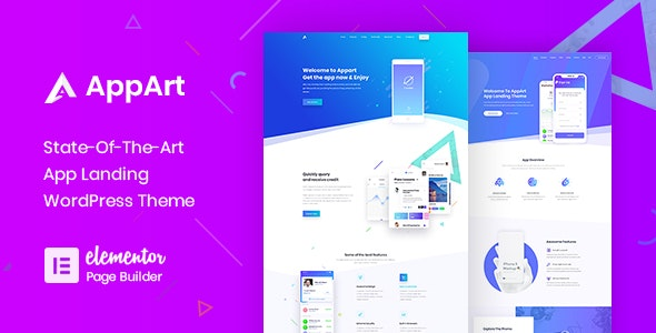 AppArt | Creative WordPress Theme For Apps Saas